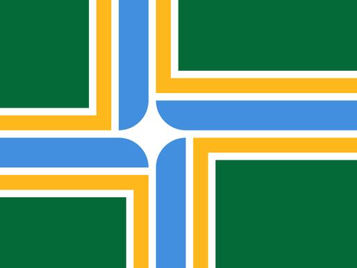 Las banderas y el diseño.