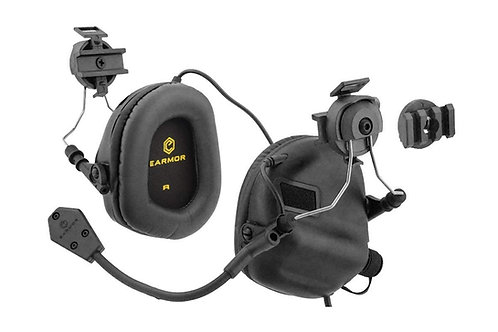 Earmor M32H tactical headset for Fast Helmets