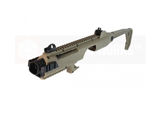 AW Tactical carbine kit for glock VX series - TAN