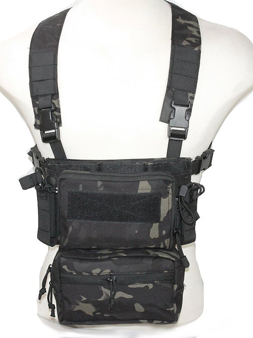 HRG MODULAR ASSAULT MK3 CHEST RIG WITH FANNY PACK