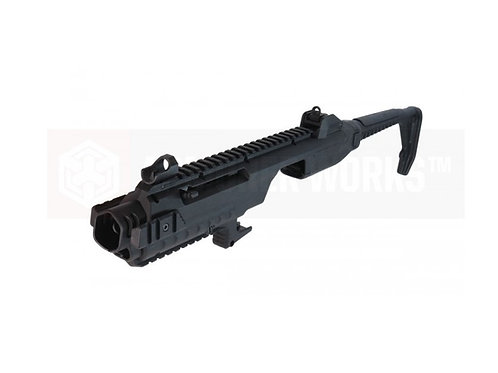 AW Tactical carbine kit for glock VX series -BLACK