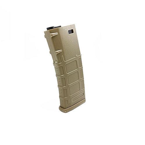 E&C PMAG MIDCAP MAGAZINE FOR M4/M16 AEG ( TAN)