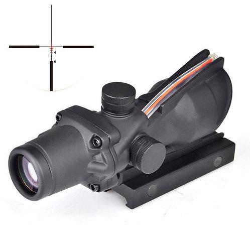 Acog replica 4X with fiber optic sight