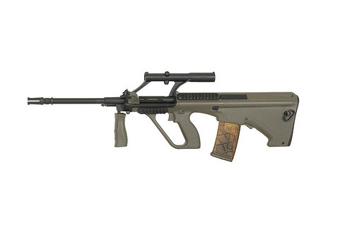 ARMY ARMAMENT AUG CARBINE AEG W/ 1.5X SCOPE