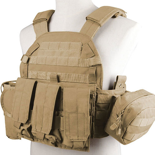 HRG PLATE CARRIER W/POUCHES