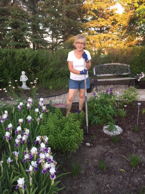 Gardening keeps me well-grounded