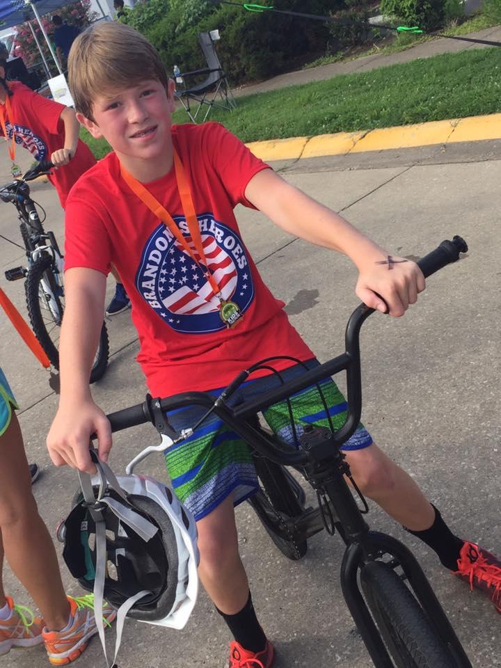 Biking for Brandon