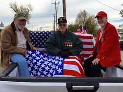 WWII, Korean War and Vietnam War veterans