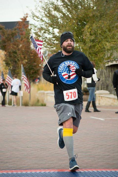 Spencer running for Team Brandon
