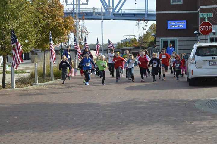 FUN RUN for Little Warriors!!!__Kentucky Remembers Veterans Day 5K