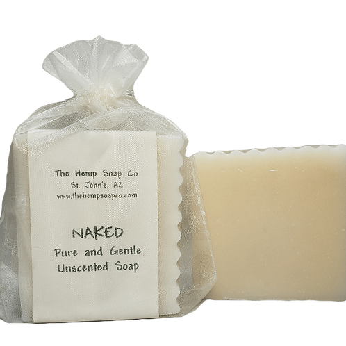 Naked, All-Natural Pure and Gentle Fragrance Free Soap