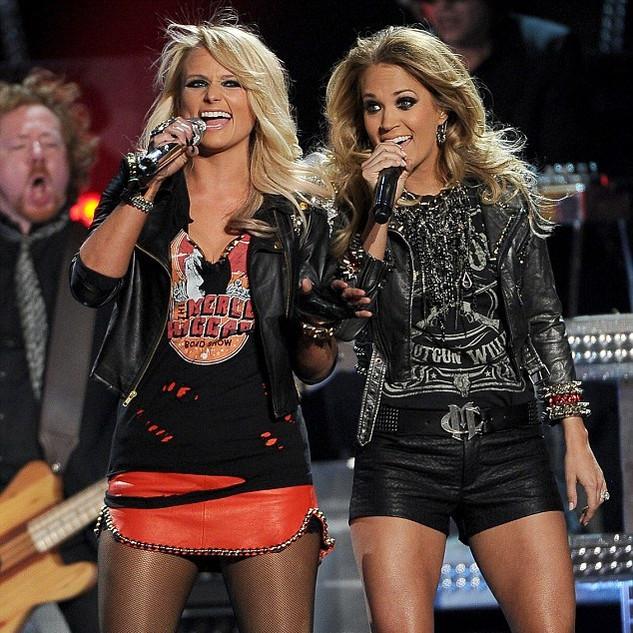 Miranda Lambert + Carrie Underwood