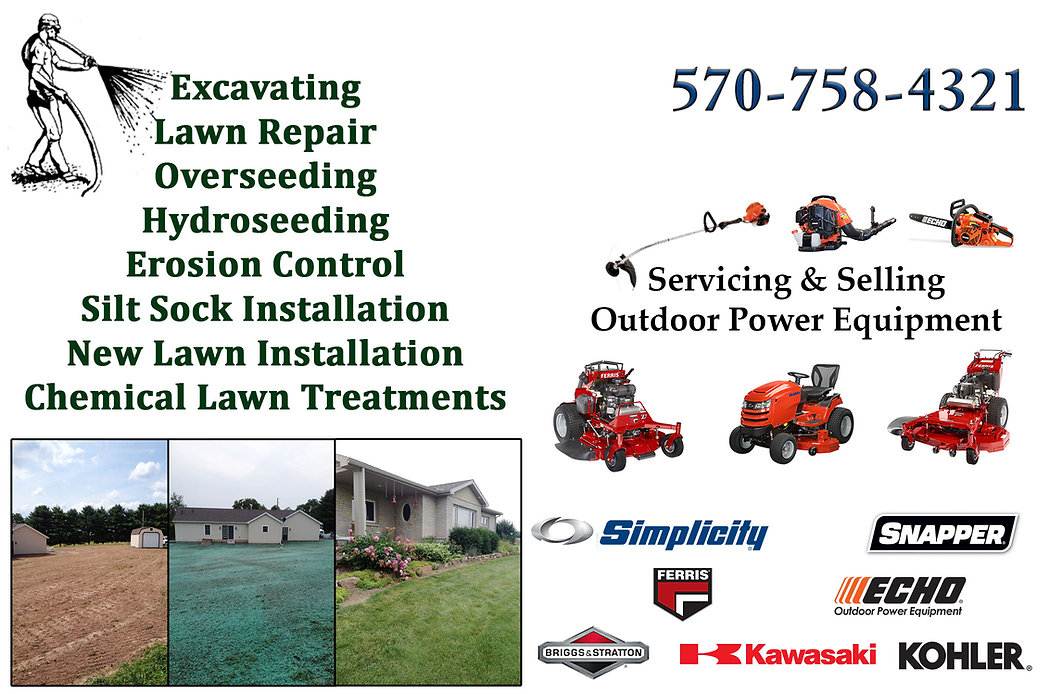 hydroseeding, lawn mowers, seeding, echo, Ferris, Zero Turn