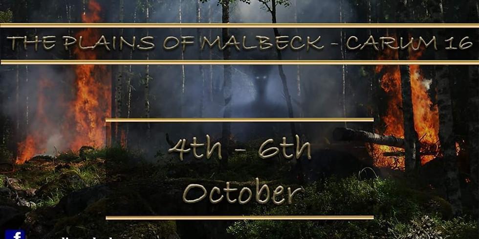 Carum Larp- Event 16 'The Plains Of Malbeck'