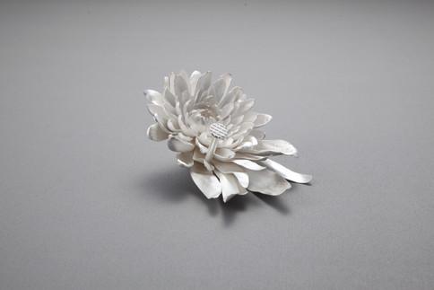 1. Chrysanthemum & Nail #1 (Brooch)