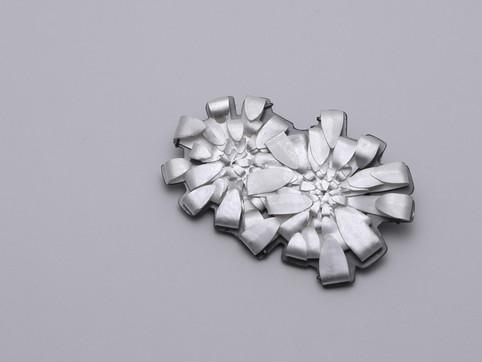 The White Chrysanthemum Crushed #2
