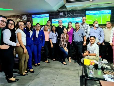 Programa de capacitación en El Guabo, Ecuador