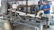 Construcción de ducto de ventilación de un horno secador
