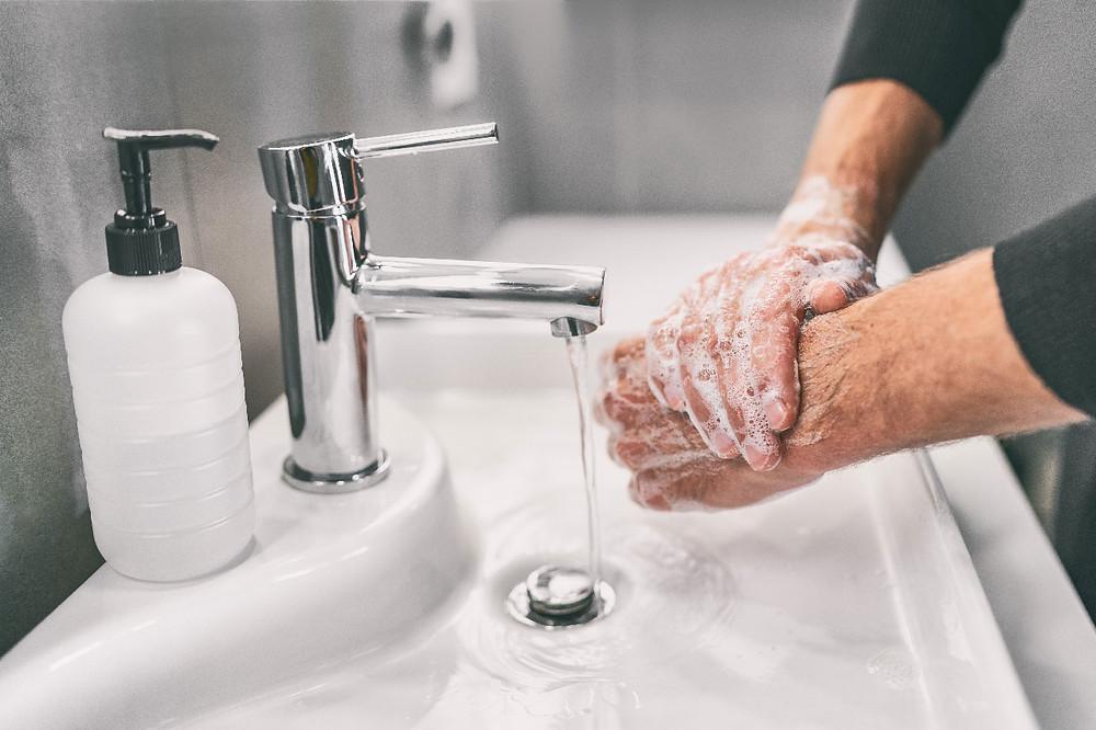 lavarse las manos covid