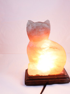 Cat Himalayan Salt Lamp