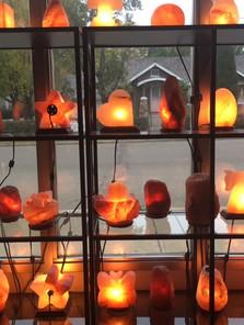 Front Showroom Lamp Display