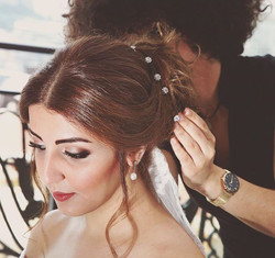 Love my job💕 beautiful bride _sadaffi