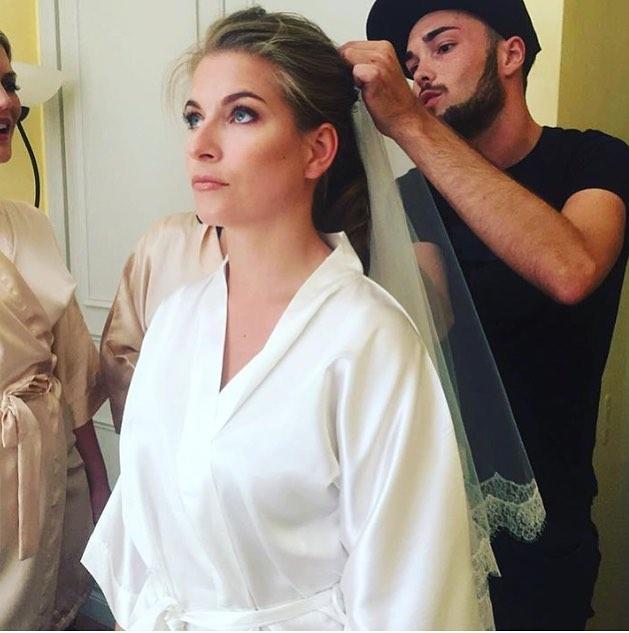 Beautiful bride KS&EL #макияж #proud#косметика#hudabeauty#makeup##EL #fashion #trend #beauty #cannes