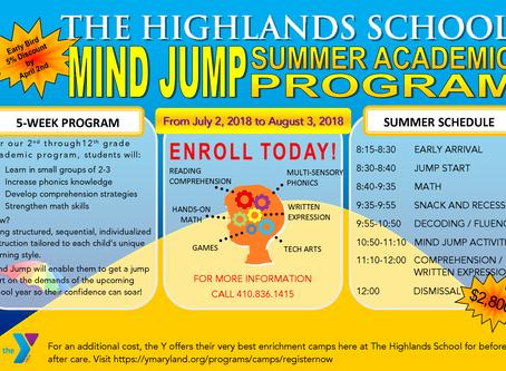 MIND JUMP Summer Academic Program
