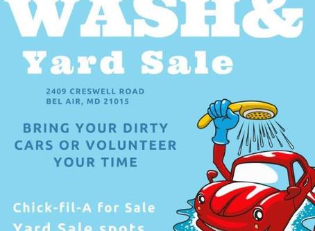 Spring Fundraiser - Car Wash & Yard Sale