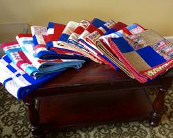 Lap quilts for our veterans
