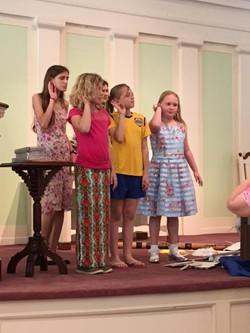 Church School Sunday 2017