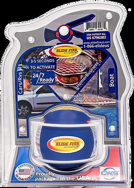 "ELIDE FIRE® Extinguishing 4"" Ball Blue (Engine Room Bracket)"