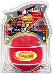 "ELIDE FIRE® Extinguishing 6"" Ball (Standard Bracket)"