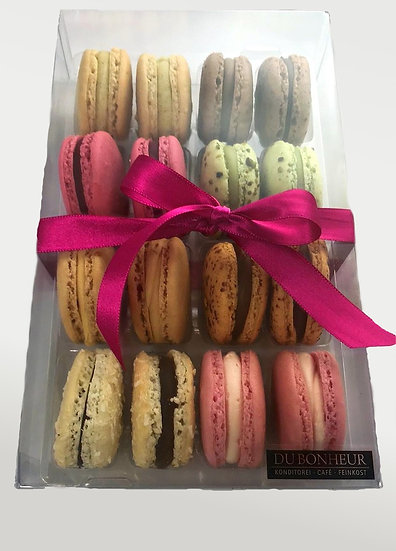 Macaron Geschenkbox 16 Stück