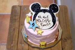 バースデーケーキ ミッキー