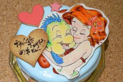 バースデーケーキ ディズニー