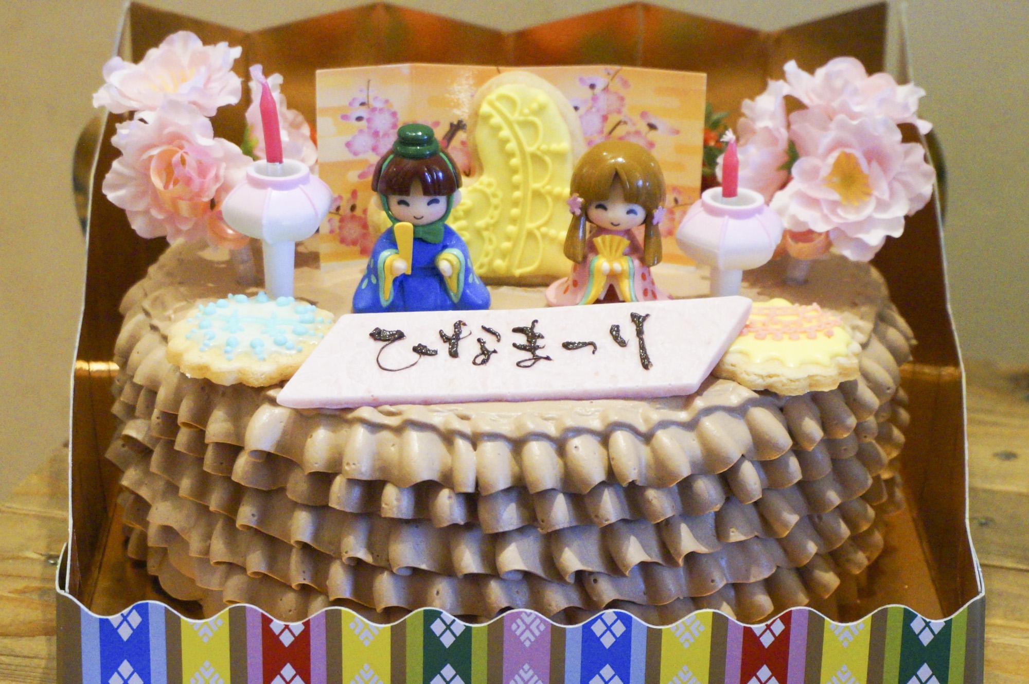 ひなまつりケーキ2