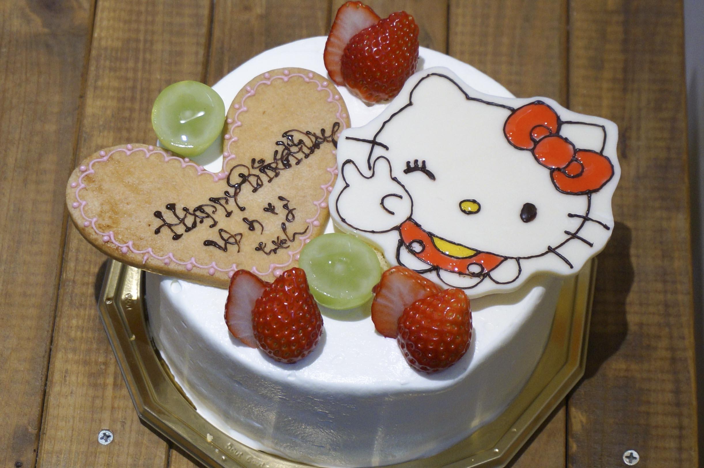 バースデーケーキ キティー