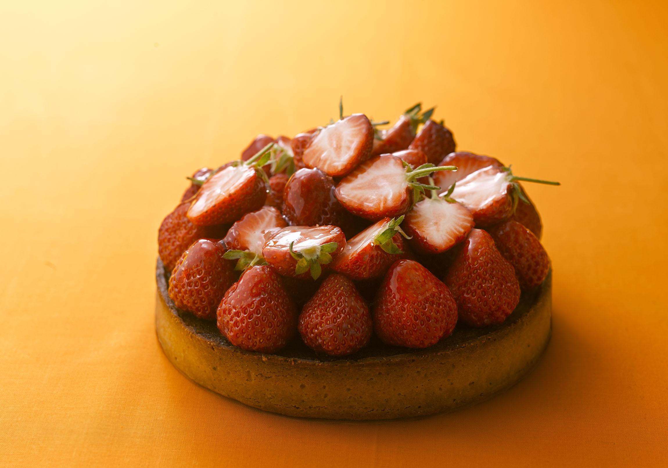 イチゴのタルト