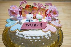 ひなまつりケーキ4