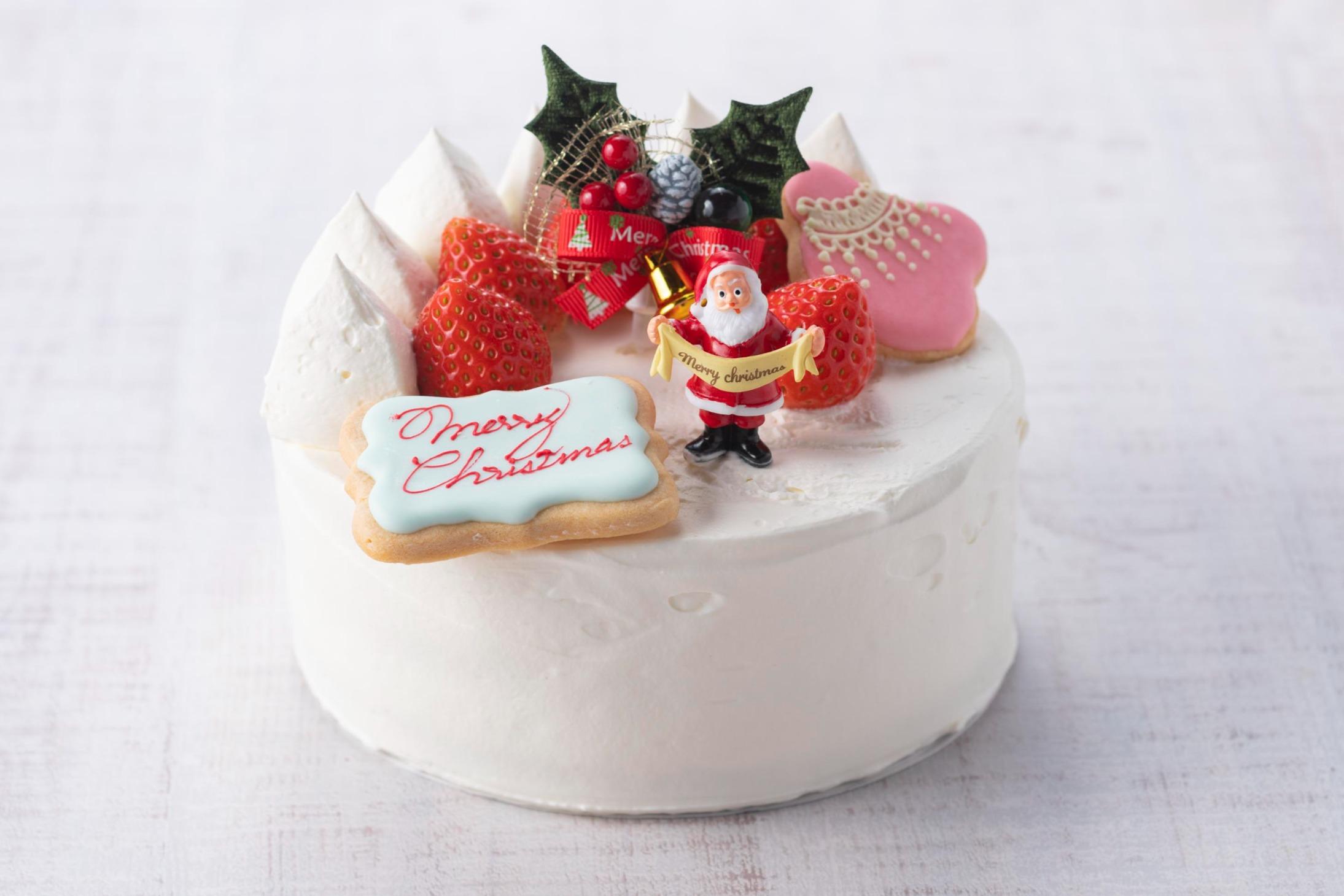 たっぷり苺の生デコレーションケーキ
