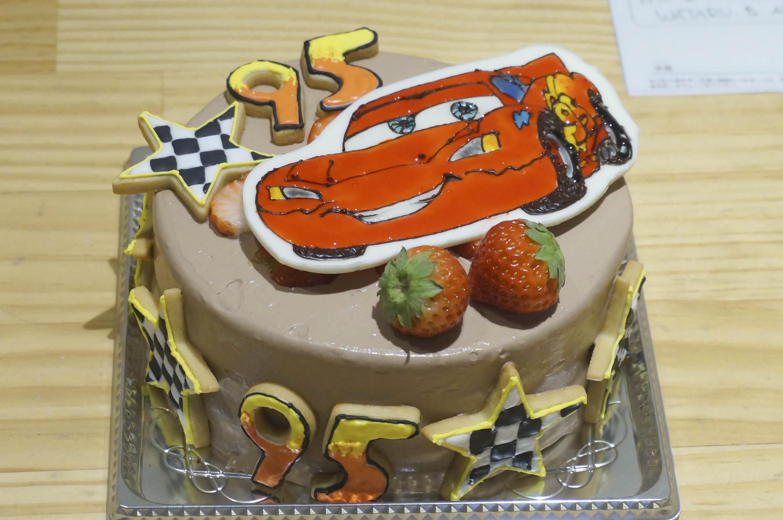 バースデーケーキ カーズ