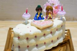 ひなまつりケーキ3