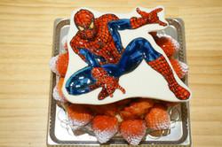 バースデーケーキ スパイダーマン