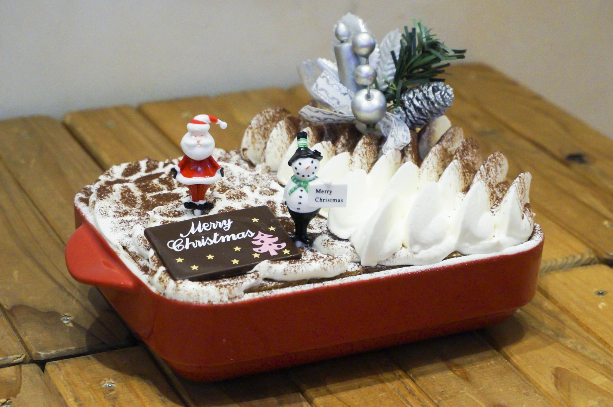 よくばりクリスマスティラミス