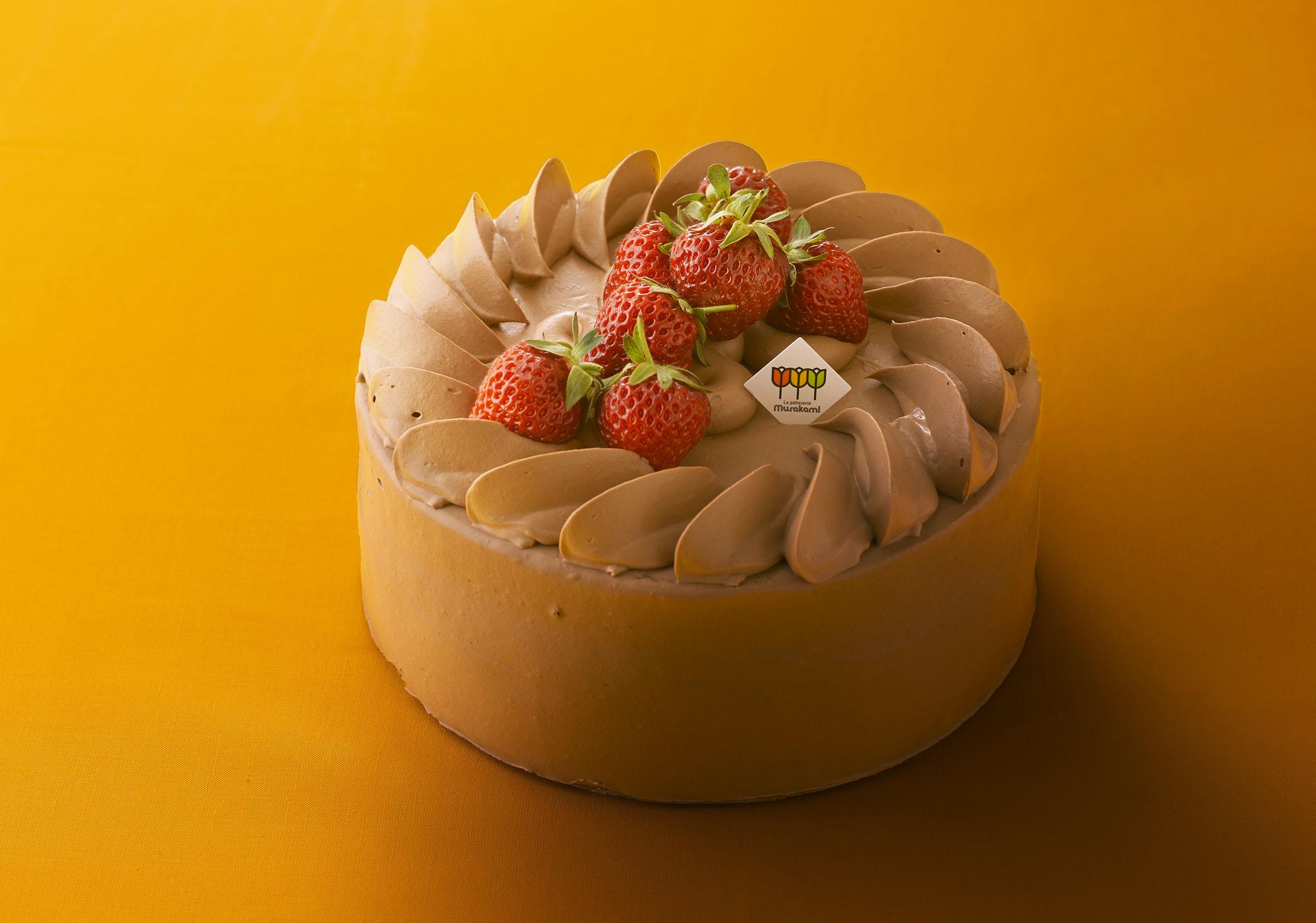生チョコデコレーションケーキ