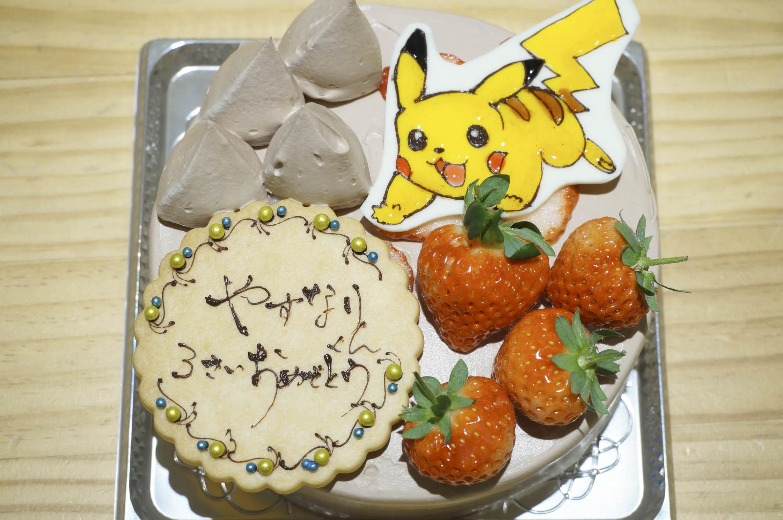 バースデーケーキ ピカチュウ