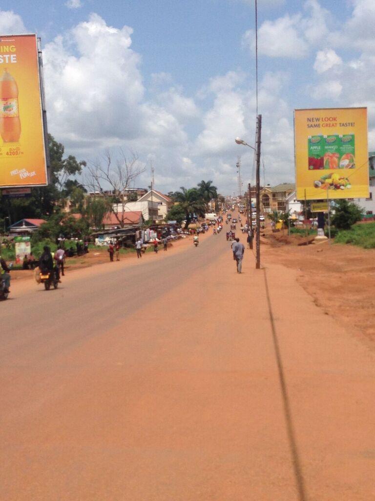 she said (Uganda): 12 PEOPLE, A MINI VAN AND A CHICKEN
