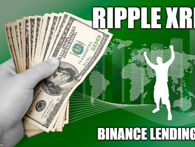 Ripple XRP Is Now Part Of The Binance Lending Program