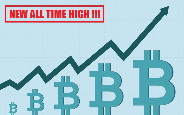 Bitcoin New All Time High On Bitstamp